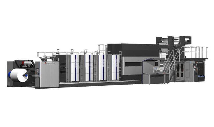三菱重工機械システム株式会社製商業用オフセット輪転機