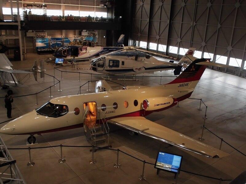 「あいち航空ミュージアム」を見学