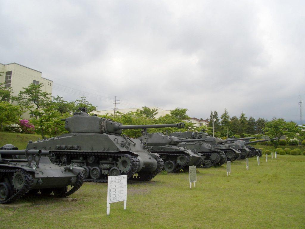 陸上自衛隊富士駐屯地 戦車の数々