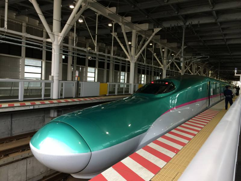 JR函館北斗駅「はやぶさ34号」