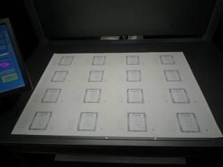 三菱製オフライン品質検査装置 OKシートを設置