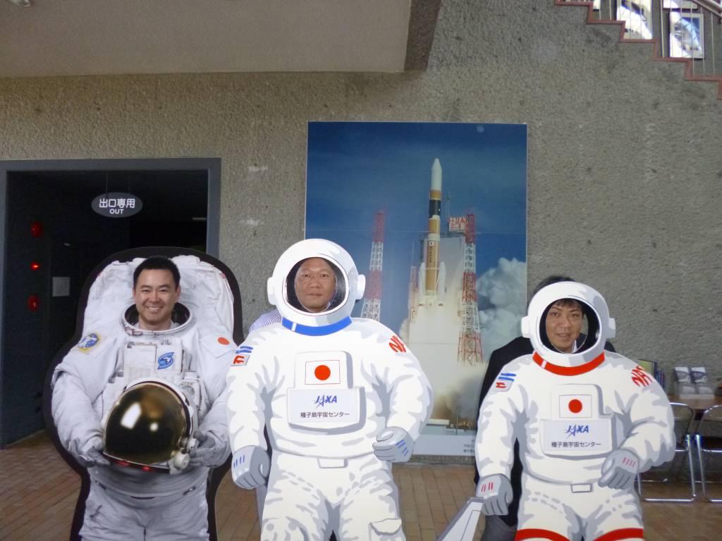 今度の気分は「宇宙飛行士」
