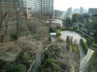 「椿山荘」からの眺め