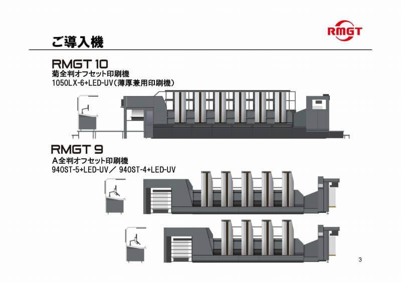 導入機 RMGT1050LX-6.940ST-5+940ST-4